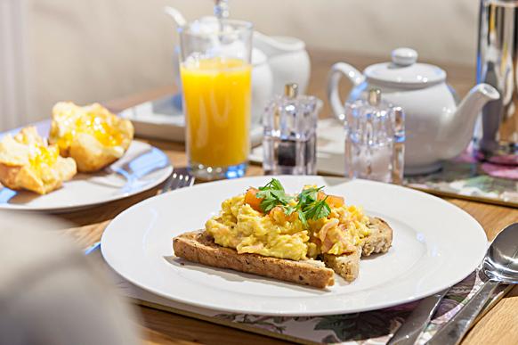 Photo of breakfast at Hubbard's